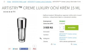 ARTISTRY Creme LuXury